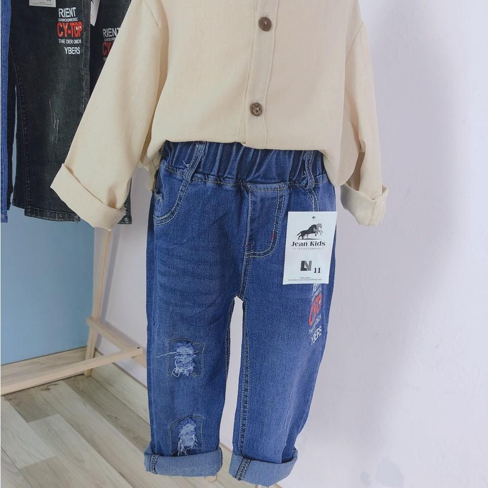 Quần Jeans Cho BÉ Trai Và BÉ Gái Phong Cách Ulzzang
