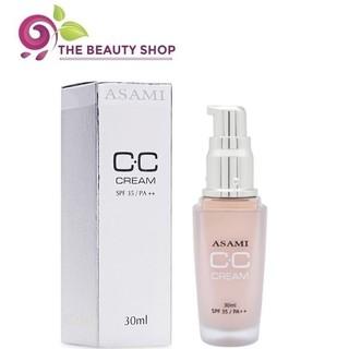 Kem nền Asami CC Cream 30ml SPF35 công nghệ kép dưỡng ẩm, chống nắng, cho lớp nền hoàn hảo thumbnail