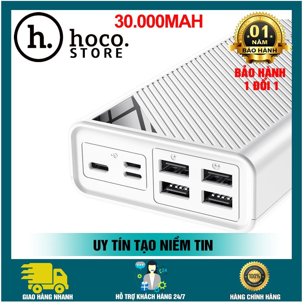 Sạc Dự Phòng 30000mAh Hoco DB04 Hỗ Trợ 4 Cổng USB {BẢO HÀNH 12 THÁNG}