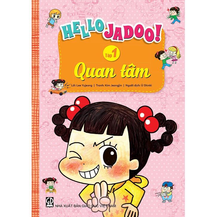 Hello Jadoo (Tập 1) – Quan tâm - 3187618 , 882287040 , 322_882287040 , 69000 , Hello-Jadoo-Tap-1-Quan-tam-322_882287040 , shopee.vn , Hello Jadoo (Tập 1) – Quan tâm