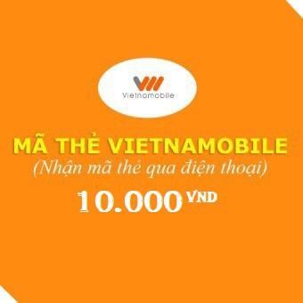 Mã thẻ Vietnammobile 10.000
