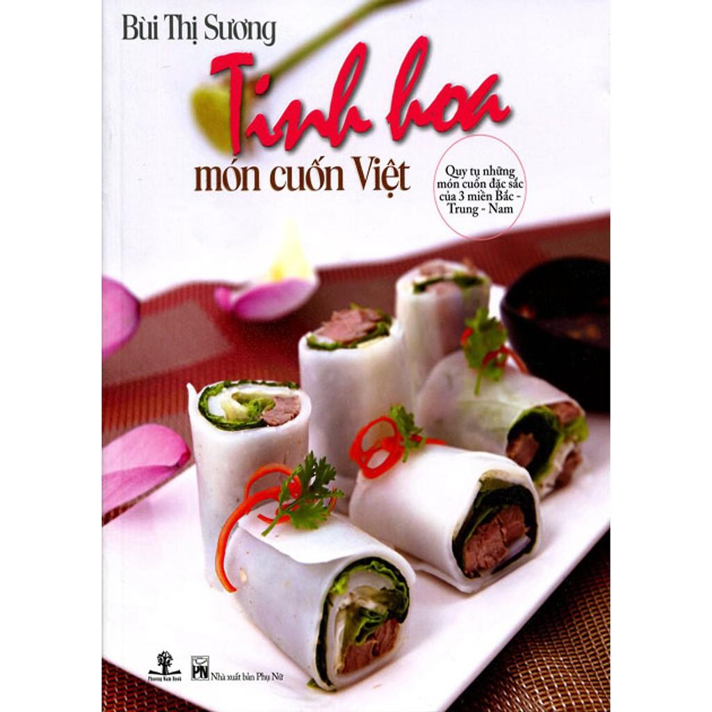 Sách - Tinh Hoa Món Cuốn Việt