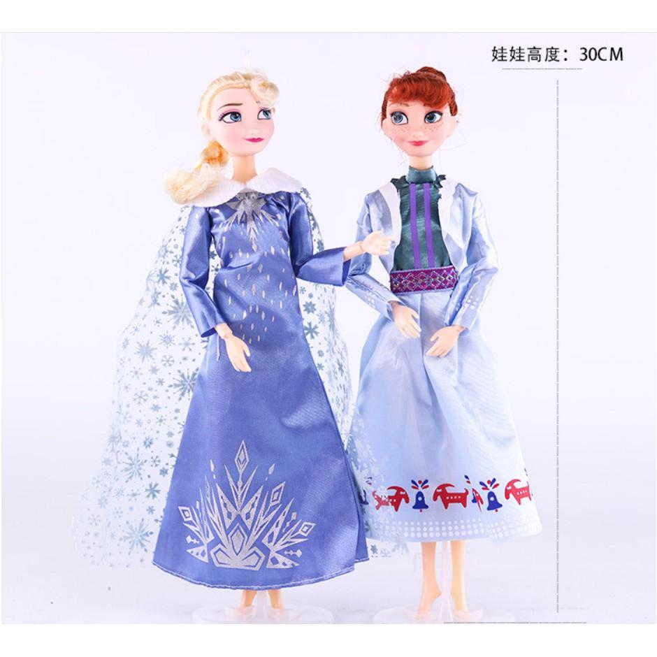Búp Bê Nhồi Bông Hình Công Chúa Anna Elsa Olaf Trong Phim Frozen 2 Dành Cho  Bé Gái 118057484