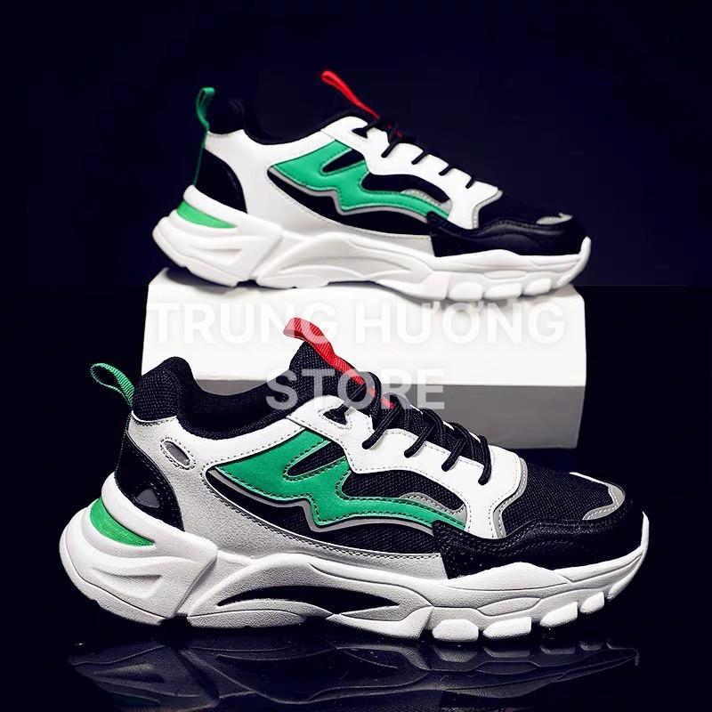 Giày Thể Thao Nam Đẹp - Giày sneaker nam chính hãng Trung Hương, Siêu nhẹ, Siêu êm và bền, cam kết chất lượng V77 fullbo
