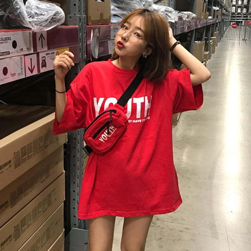 Áo phông Harajuku YOUTH kèm túi