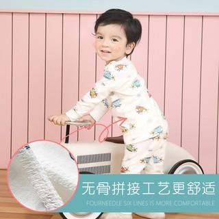 Bộ Đồ Ngủ Vải Cotton Thời Trang Mùa Thu Cho Bé