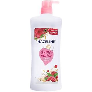 Sữa tắm dưỡng sáng da Hazeline yến mạch và dâu tằm 900g thumbnail