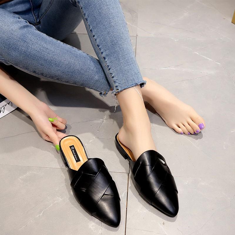 Giày Bít Mũi Thời Trang Nữ Tính