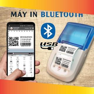 [ELCL70K hoàn 10% tối đa 70k xu đơn từ 500k]ivn047 Máy In Tem & Hóa Đơn Bluetooth NyearLabel