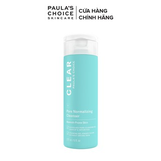 Sữa rửa mặt ngăn ngừa mụn và se khít lỗ chân lông Paula s Choice Clear Pore Normalizing Cleanser 177ml mã 6002