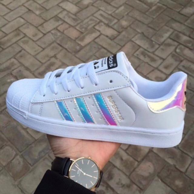 [HOT] Giày adidas superstar hologram loại đẹp size 36->40