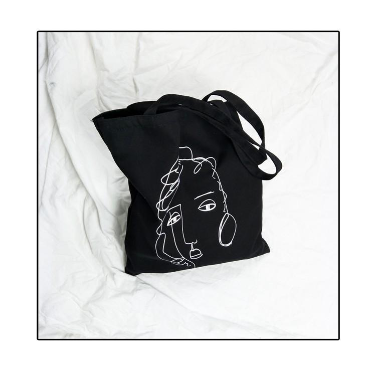 Túi Tote Hoạ Tiết Hình Dễ Thương ( TX46 )