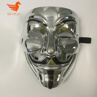 mặt na hacker halloween Anonymous màu Bạc-i49 squishyshop664