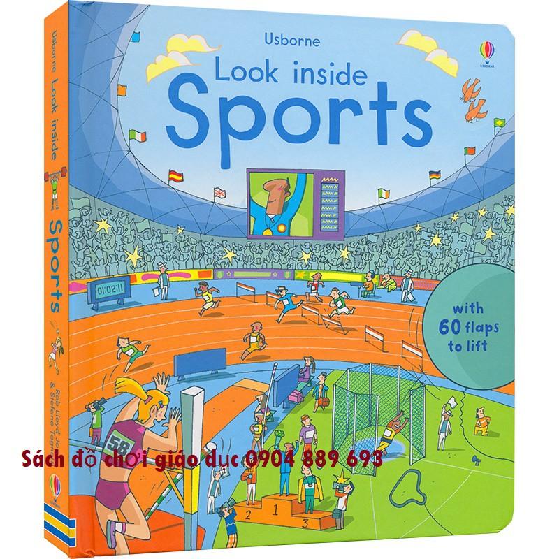 Look inside Sport Usborne - Sách lật mở