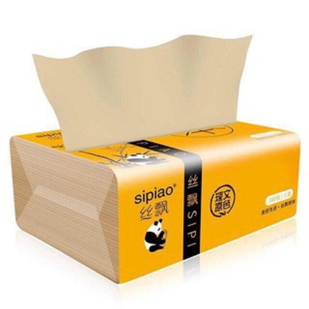 Giấy ăn gấu trúc siêu dai Sipiao 300 tờ