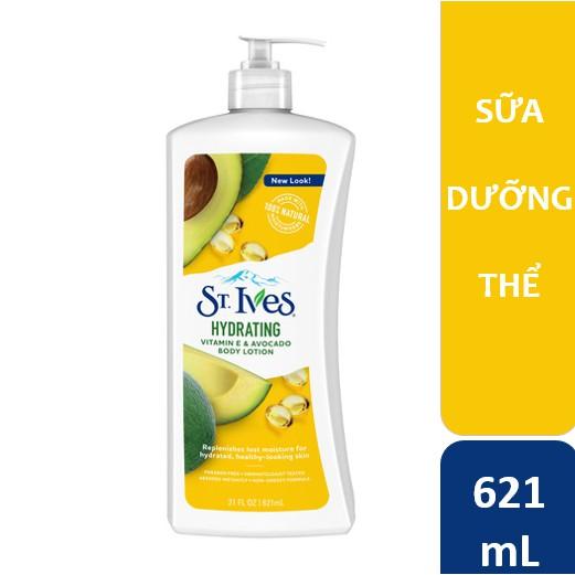 Hình ảnh Sữa dưỡng thể St.Ives Vitamin E và Bơ 621ml-0