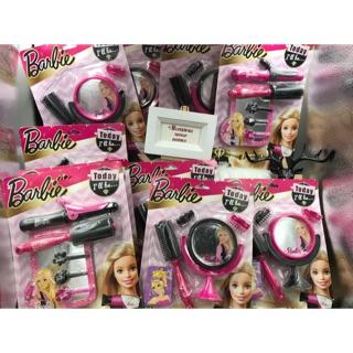 Bộ Đồ chơi trang điểm, Bộ đồ chơi làm tóc chính hãng Barbie Mattel cho bé gái. Đồ chơi bé gái chính hãng. Quà tặng Noel