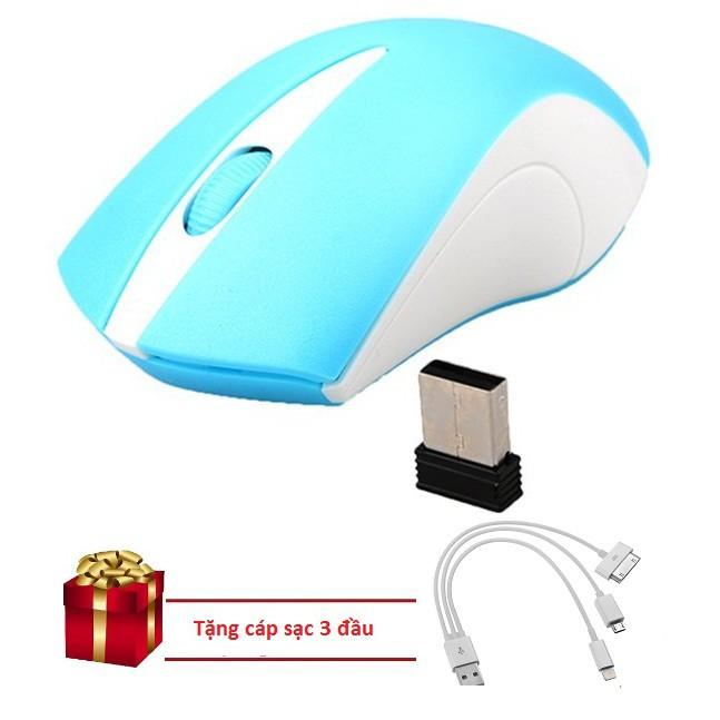 Chuột Không Dây Bluetooth Wireless XUNFOX (Xanh) Tặng cáp sạc 3 đầu - 15383514 , 1359437212 , 322_1359437212 , 159000 , Chuot-Khong-Day-Bluetooth-Wireless-XUNFOX-Xanh-Tang-cap-sac-3-dau-322_1359437212 , shopee.vn , Chuột Không Dây Bluetooth Wireless XUNFOX (Xanh) Tặng cáp sạc 3 đầu