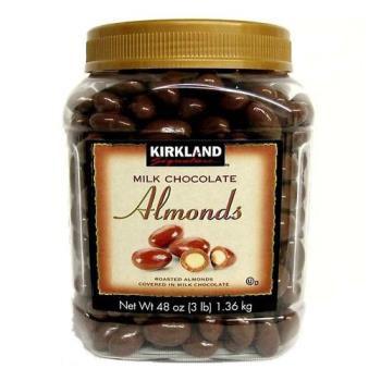 3 hộp Chocolate hạnh nhân Kirkland 1,36kg