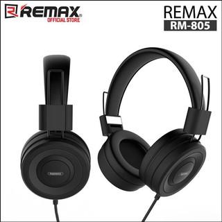 [Mã ELFLASH5 giảm 20K đơn 50K] Tai nghe chụp tai có dây Remax RM-805 1 jack 3.5mm