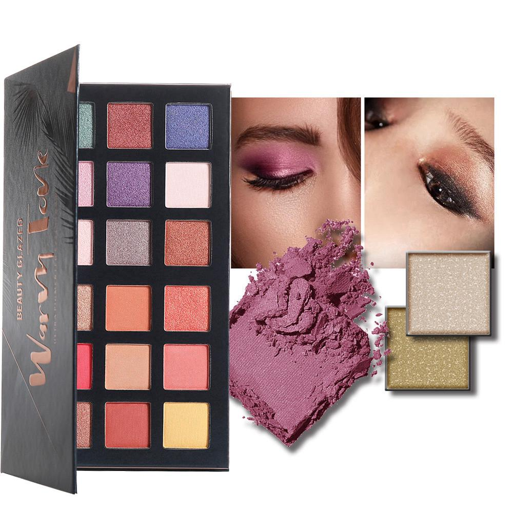 18 Color Shimmer Matte Palette Eyeshadow thumbnail