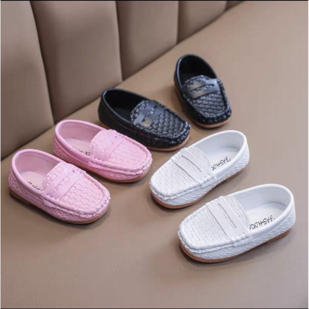 Giày Lười Bé Trai Bé Gái Mẫu Mới Mã KH01 giá rẻ