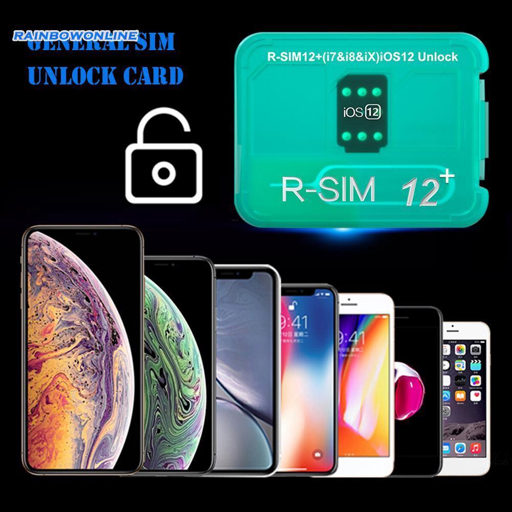 ❤RAIN❤iPhone XR/6/7/8 Phone Card Tool R-SIM12 V16 ICCID