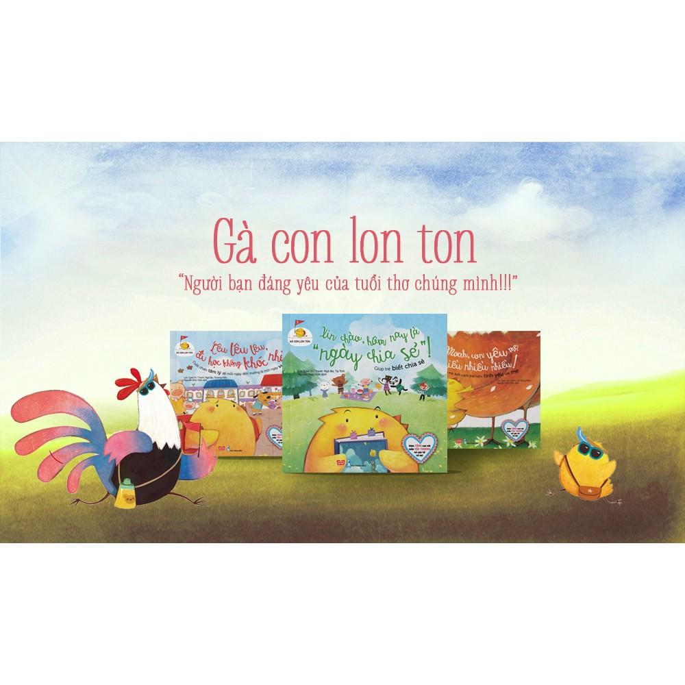 Sách truyện hay cho trẻ em: Gà con lon ton