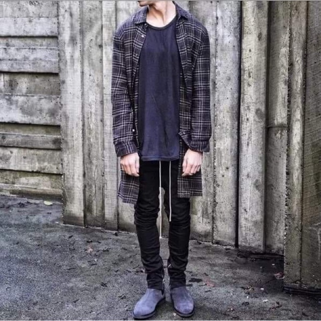 Quần skinny zipper