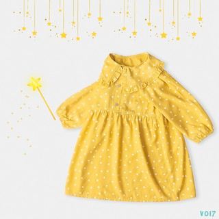 Váy Cho Bé Gái 2 Màu Hoạ Hình Tiết Trái Tim Thời Trang BELLO LAND thumbnail