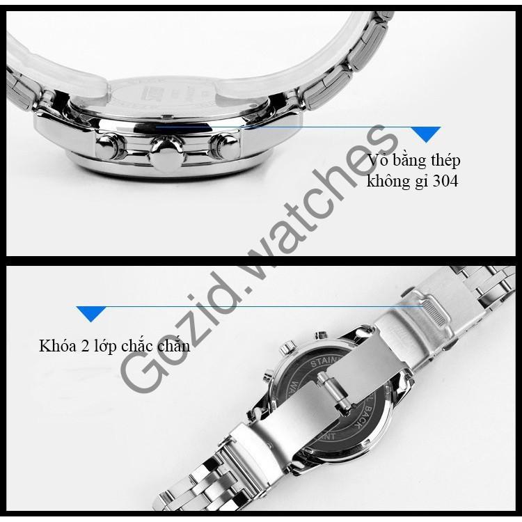 Đồng hồ nam dây da cao cấp chống nước SKMEI SM20 -Gozid.watches