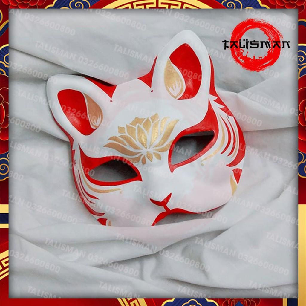 Mặt nạ mèo vẽ_09 (Mask cat)- đạo cụ cosplay