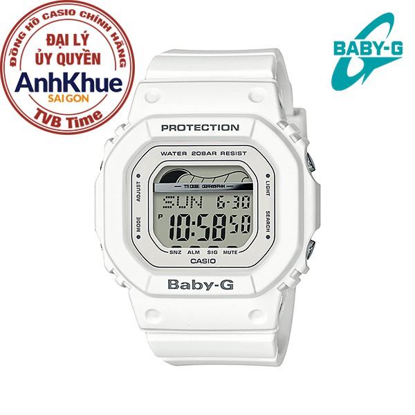 Đồng hồ nữ dây nhựa Casio Baby-G chính hãng Anh Khuê BLX-560-7DR