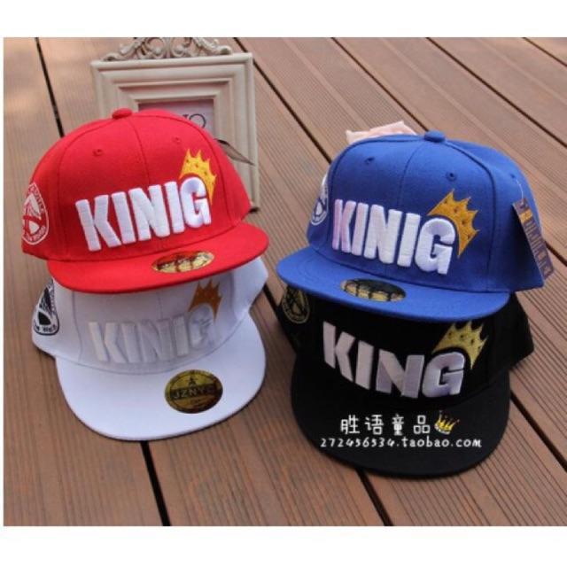 Mũ king cute cho bé