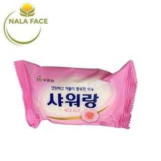 Xà Phòng Tắm Hàn Quốc Hương Hoa Hồng Mukunghwa 130g