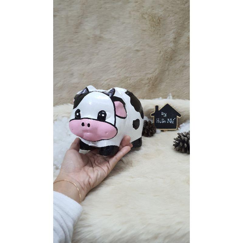 Heo đất handmade – bò sữa
