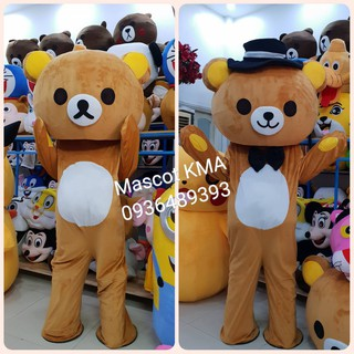 Quần áo hoá trang Mascot Gấu Rilakkuma – sinh nhật, sự kiện