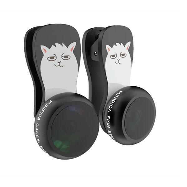 [987] Ống kính 3 trong 1 cho điện thoại siêu Kute F-504