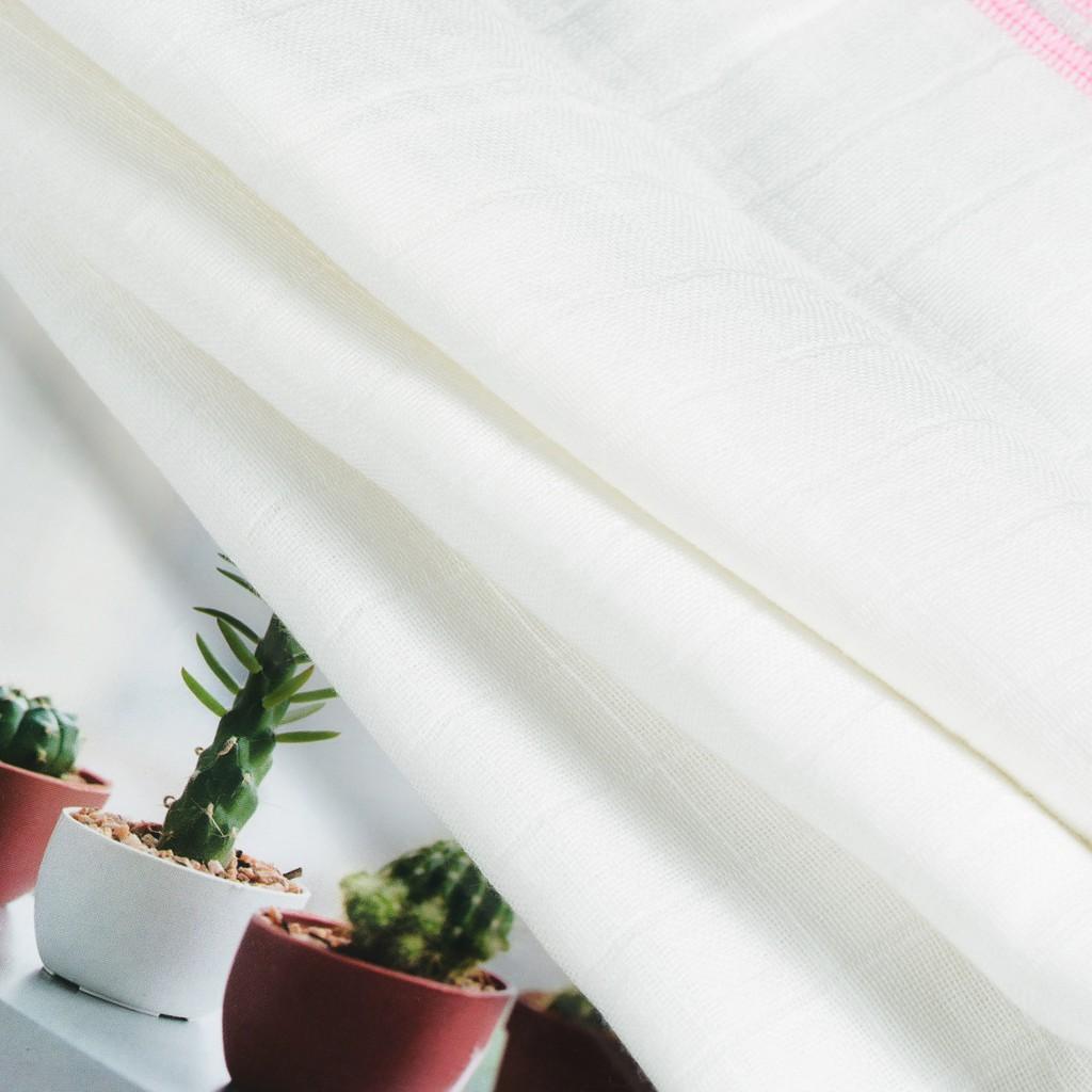 [CHÍNH HÃNG ] Khăn tắm cho bé, khăn tắm em bé Cotton Dệt Ô Cao Cấp HMNATURE