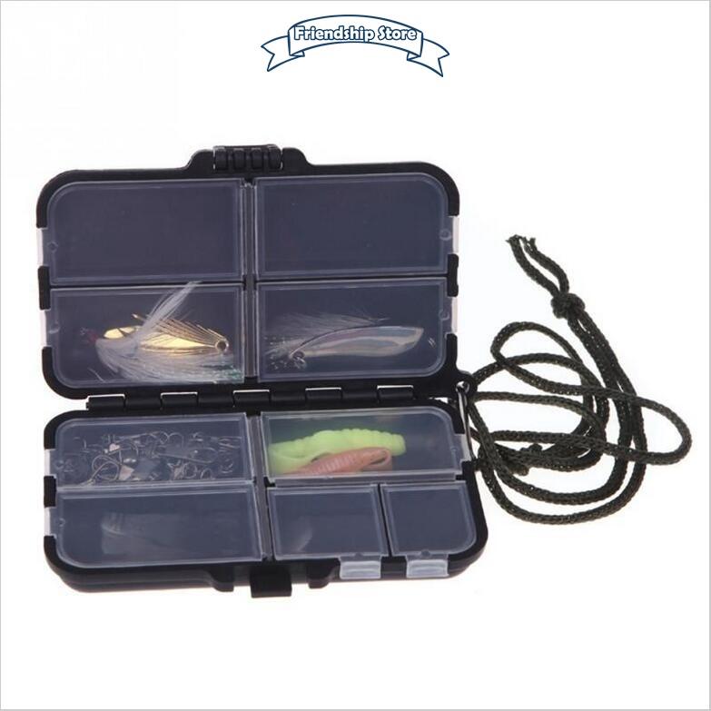 Hộp đựng phụ kiện câu cá 2 lớp chất lượng cao kèm dây treo tiện dụng