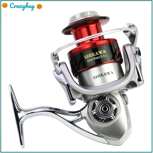 6 axis Full Metal Fishing Reel Engineering Spinning Wheel Reel Fishing Equipment