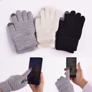 Găng tay dệt kim hỗ trợ cảm ứng chạm tiện dụng