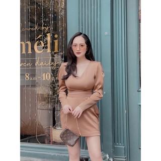 Váy lụa dài tay Lily | JÉCI