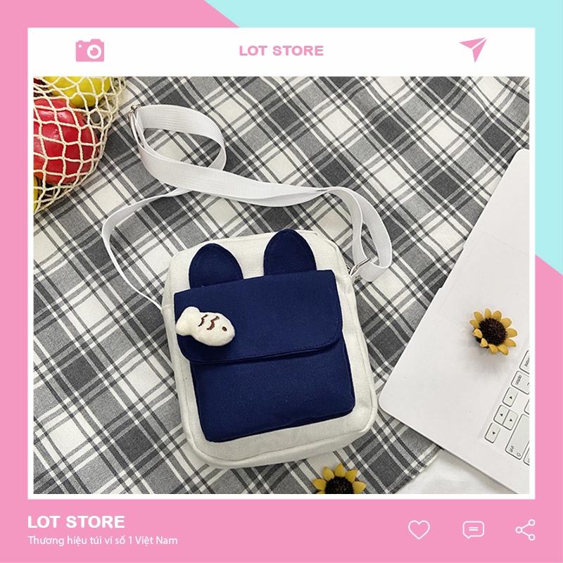 Túi đeo chéo nữ nhỏ giá rẻ đi chơi dễ thương nhiều ngăn TX522