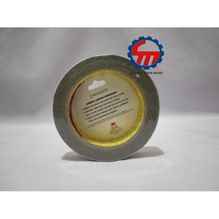 Cuộn Băng Keo Hai Mặt Màu Trắng Dài 3m Tep 24mm