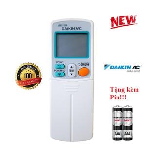 Điều khiển điều hòa Daikin 1& 2 chiều Inverter ATK  ATF FTHF FTC FTK- Hàng tốt 100% Tặng kèm Pin!
