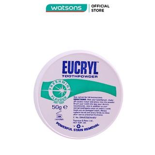 Bột Đánh Răng Tẩy Trắng Eucryl Toothpowder 50g