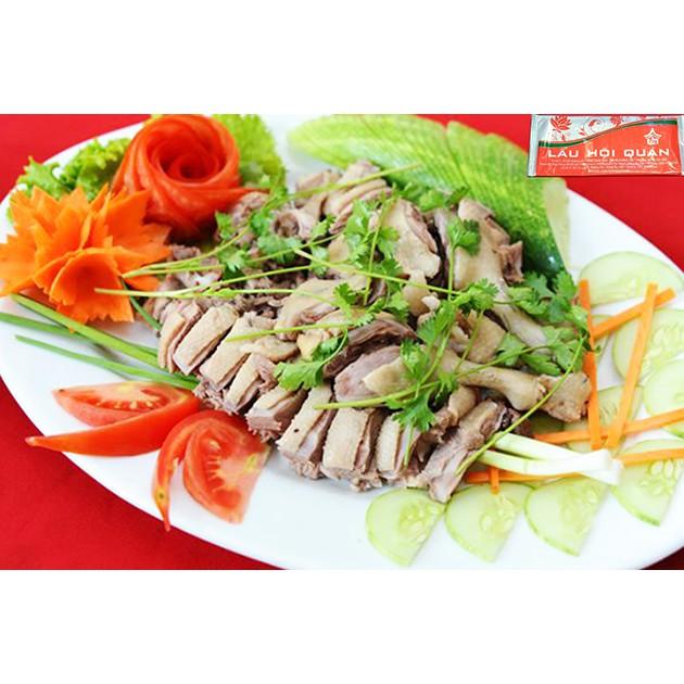 Hà Nội [Voucher] - Set Vịt Trời hấp dẫn dành cho 04 người Nhà hàng Lẩu Hội Quán Hoàng Cầu