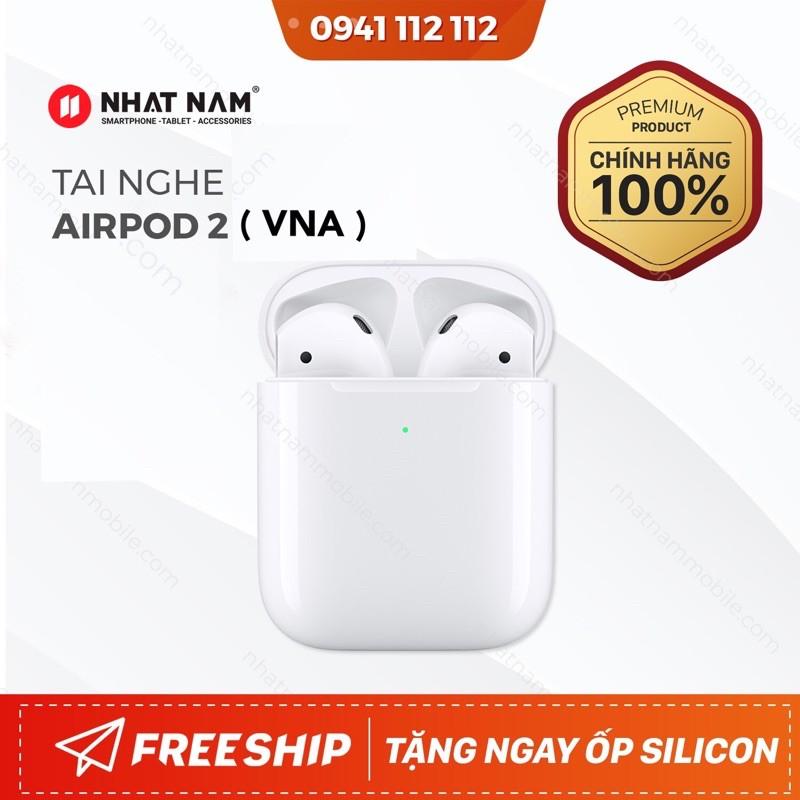 Chính Hãng mã VN/A- Tai nghe Airpod 2 Nguyên Seal- Hàng chính hãng VN phân phối