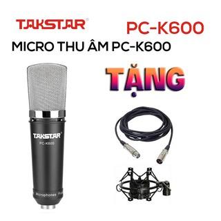 Chính hãng Mic thu âm chuyên nghiệp cao cấp Takstar PC-K600 hát karaoke, livestream, bán hàng thumbnail